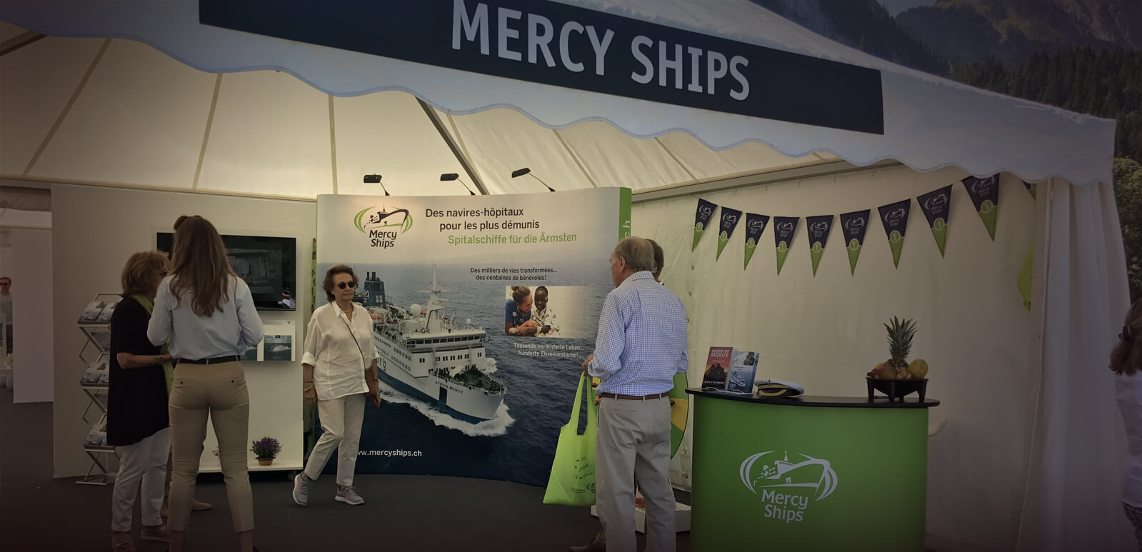 Mercy Ships à la Polo Gold Cup à Gstaad!