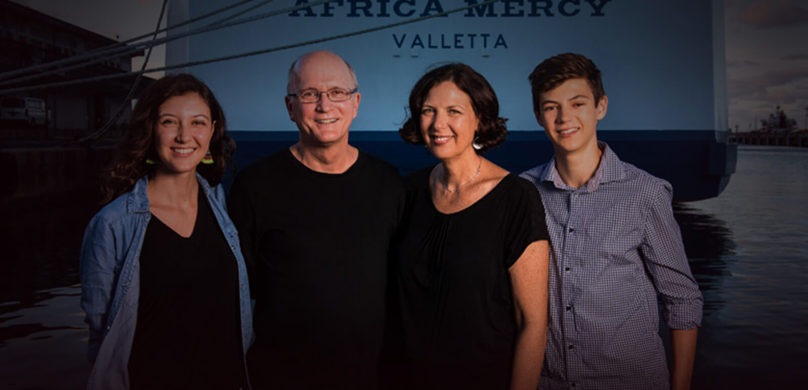 Mercy Ships Surgeon and family honored with award
