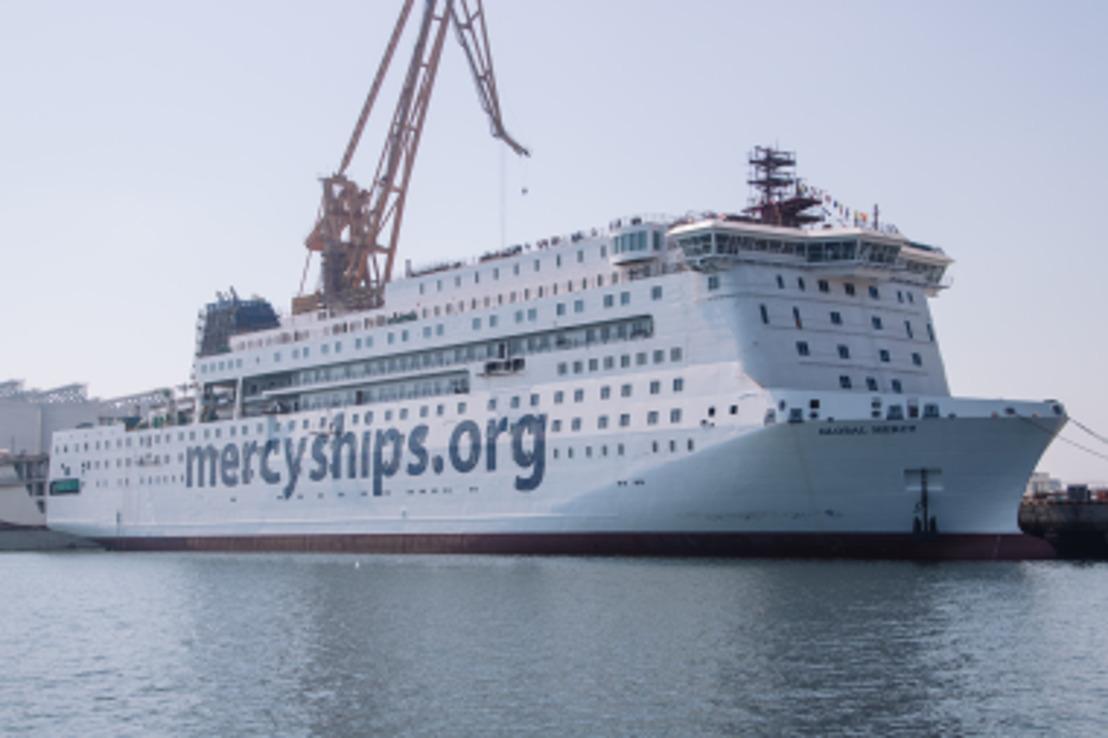 Mercy Ships erweitert ihre humanitäre Hilfe mit einem neuen Schiff und Ausbildungskursen