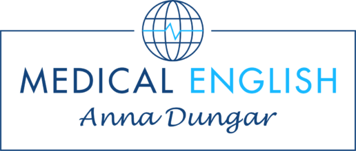 Medical English Anna Dungar logo